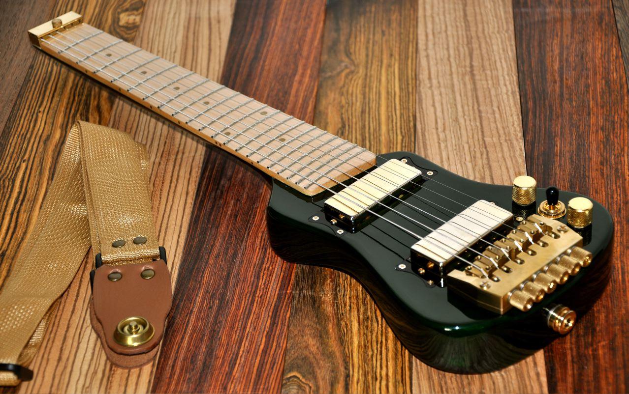 smallest travel guitar lap axe