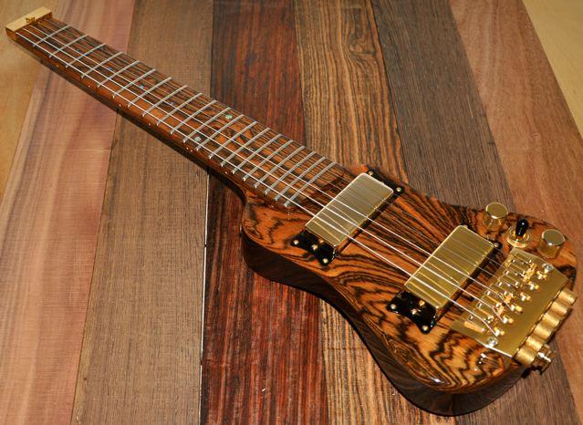 Bocote Guitar Wood Exotic Wood Guitar