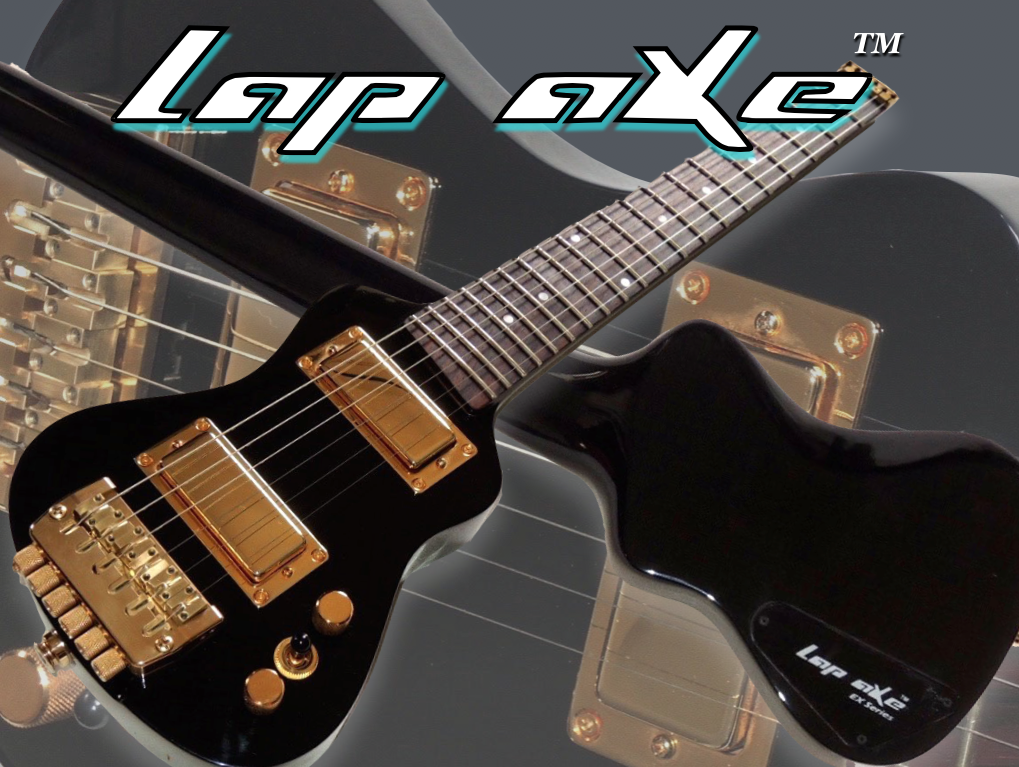 lap axe the ultimate travel guitar. Black Bedroom Furniture Sets. Home Design Ideas