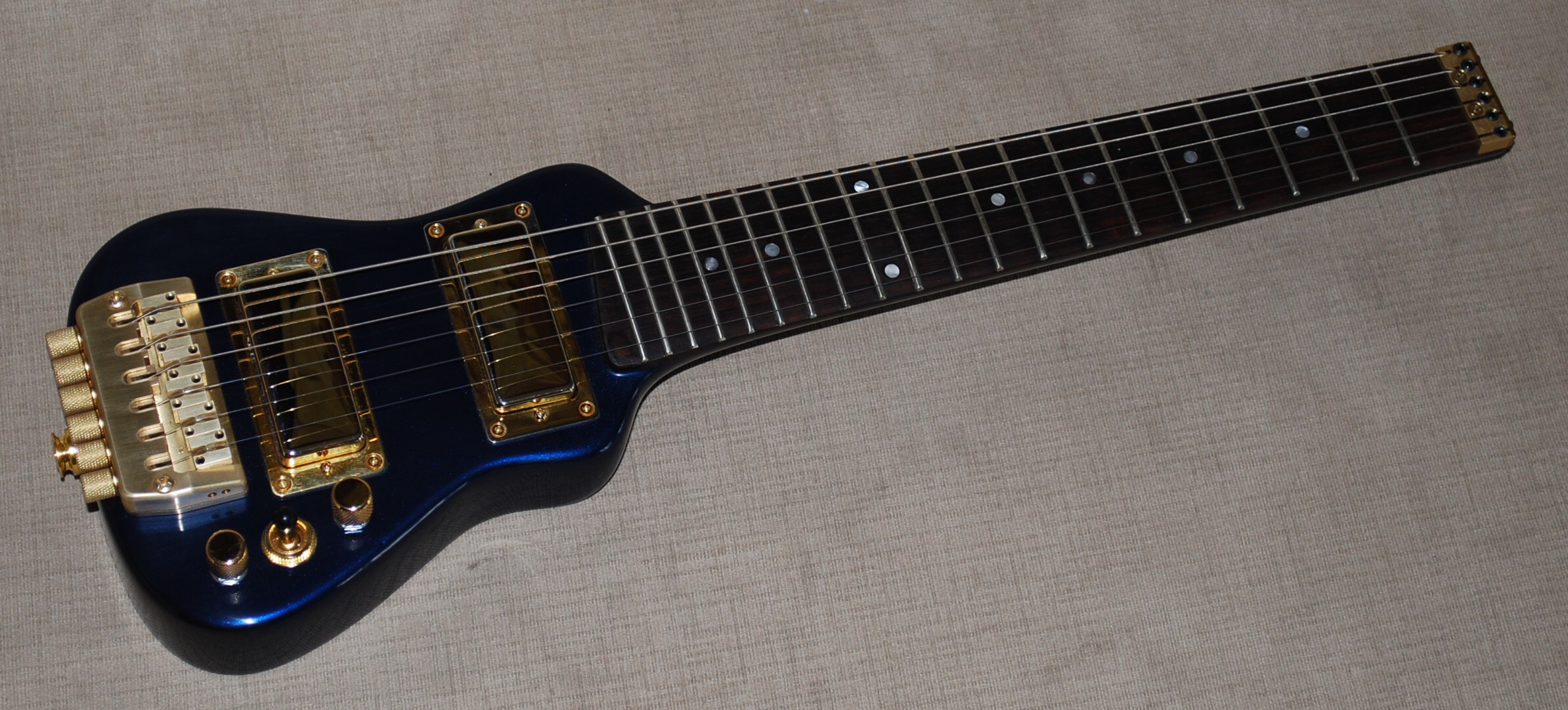 Lap Axe The Ultimate Travel Guitar