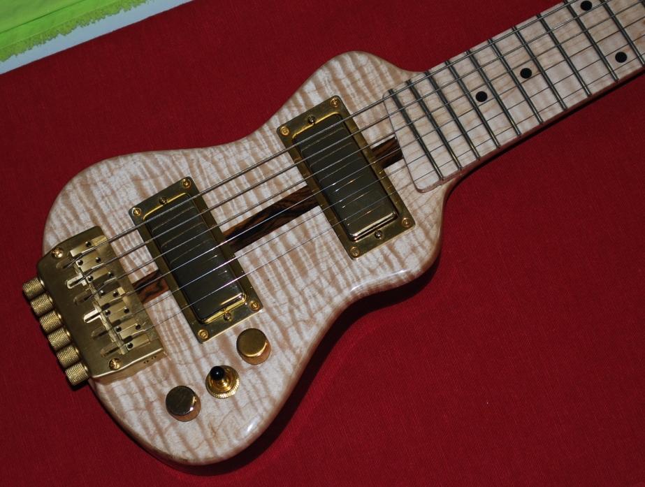 electric travel guitar lap axe. Black Bedroom Furniture Sets. Home Design Ideas